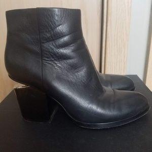 Alexander Wang Gabi Boots Silver size 38